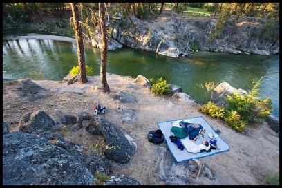 Camping along Payette