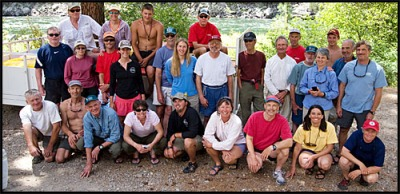 Group shot June 25th Middle Fork Salmon, ID.