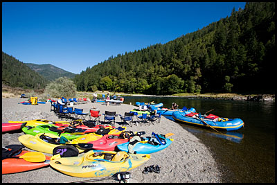 Tyee camp, Rogue River, OR.