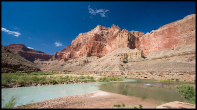Confluence of the Little Colorado.