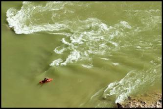 Jim H. in Deer creek Rapid.