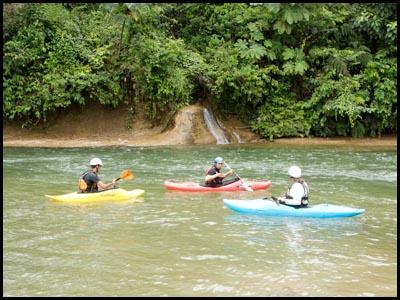 ACA on water Ecuador.