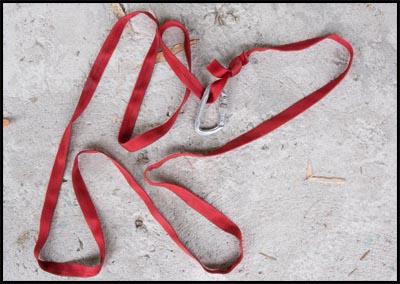 Waist sling.
