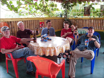 Group_kayakers_beer_Ecuador