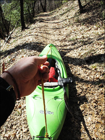 Kayak_Giant_Gap_trail_towing