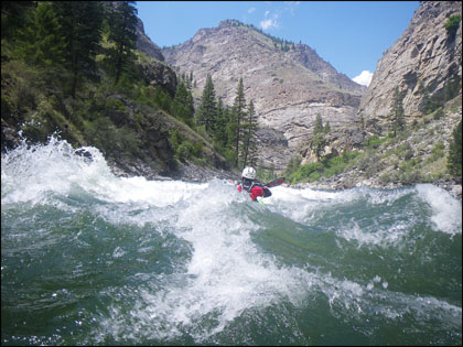 Kayaker_rapid_Impassable_Canyon_Middle_Fork_Salmon_Idaho