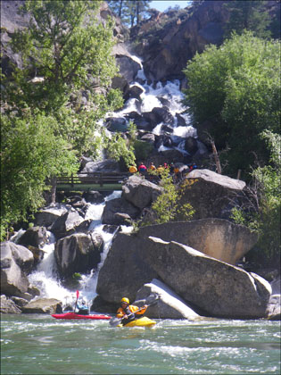 Waterfall_creek_Middle_Fork_Salmon_Idaho_kayakers