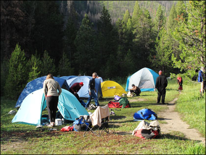Sheepeater_camp_tents_Middle_Fork_Salmon