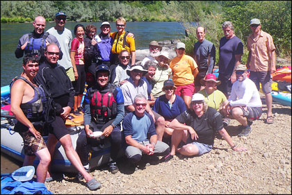 The gang on our August 12-15 trip