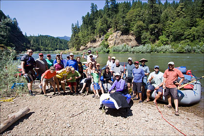Group Photo Rogue River