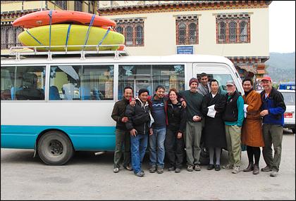 Group_kayakers_Paro_Bhutan