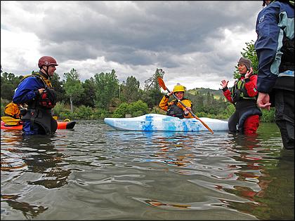 kayak roll teaching