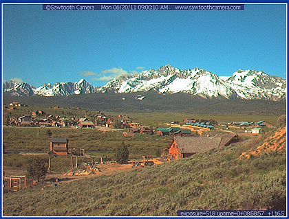Stanley Idaho webcam.