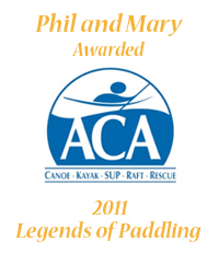 ACA Legends of paddling Phil Mary