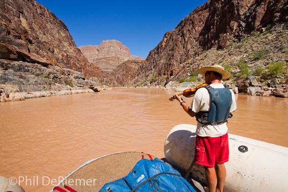 Raft_violin_Grand Canyon