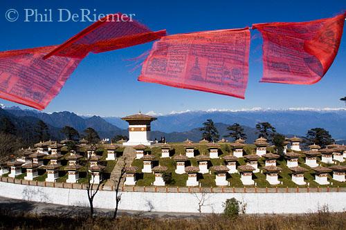 Dochu la Bhutan