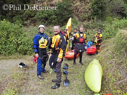 Kayakers_smiling_Dang_Chu_Bhutan