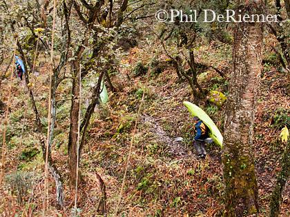 Hiking_kayaks_Bhutan