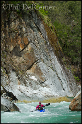 Kayaker_Cliff_American River