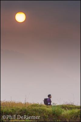 school,boy, walking, Bhutan