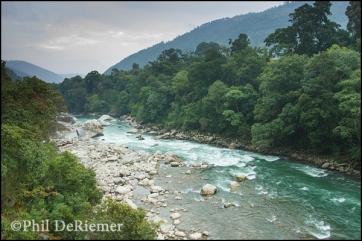 Mo Chu, river, Bhutan