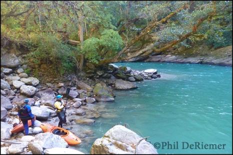 kayakers, Bhutan, Mangde Chu