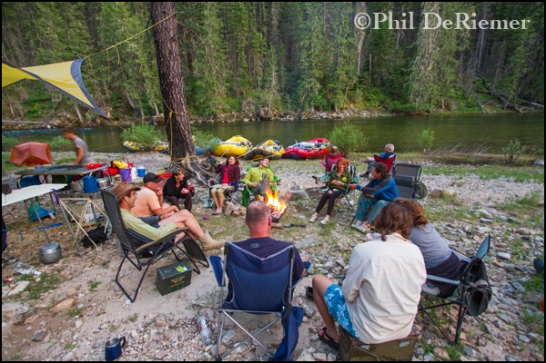 Camp_River_trip_Selway_Idaho