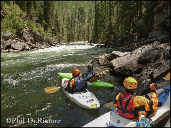 Kayakers_Selway