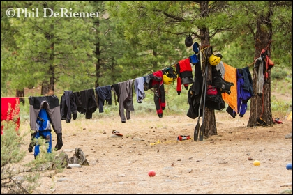 Drying_line_clothes_river_gear_Salmon