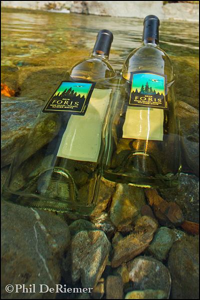 wine_bottles_creek_chilling