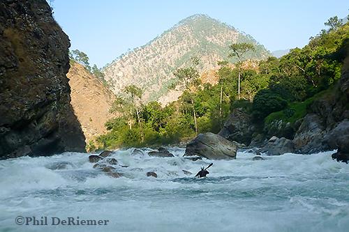 Bhutan, Kayak, Kuri Chu