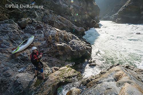 Kuri Chu, Bhutan, Kayak