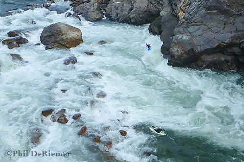 Kuri, Kayaker, Chusion, Bhutan