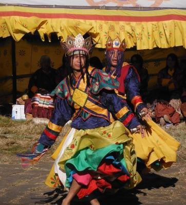 Dansers_Bhutan