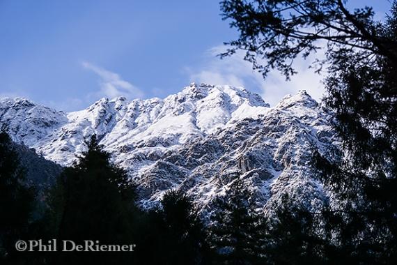 Snow_Jhomolhari_trek_Bhutan